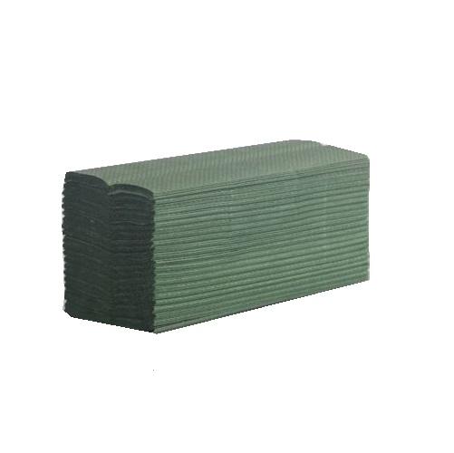 C-fold Hand Towel Green 1ply