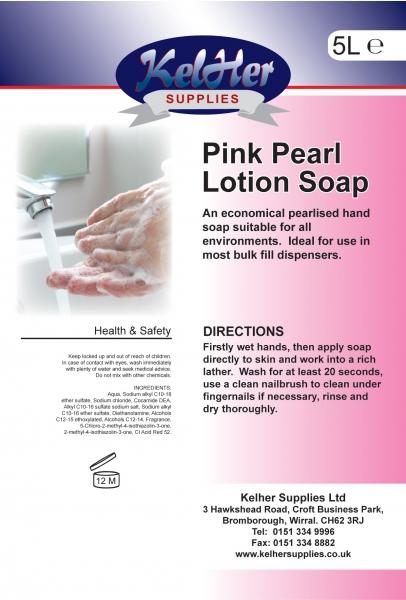 Kelher Pink Pearl Hand Soap