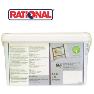 RATIONAL RINSE AID TABLETS (50)
