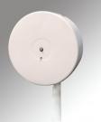 Mini Jumbo Tissue Dispenser, White Steel