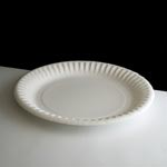 """7"""" (18cm) White Paper Plate"""