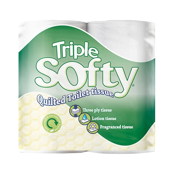Triple Softy 3PLY Toilet Roll