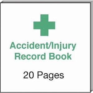 Accident Record Book 20 Pages