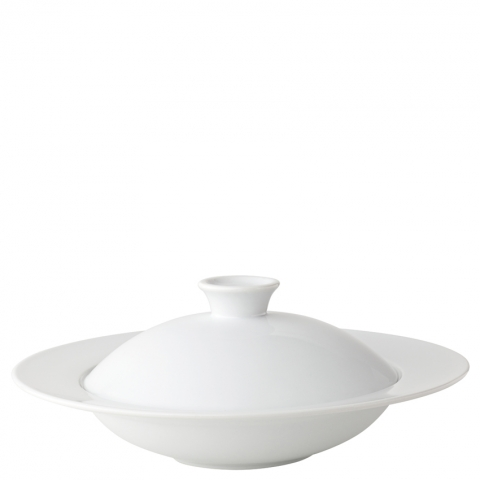Titan Pasta/Mussels Bowl with Lid 10.5''
