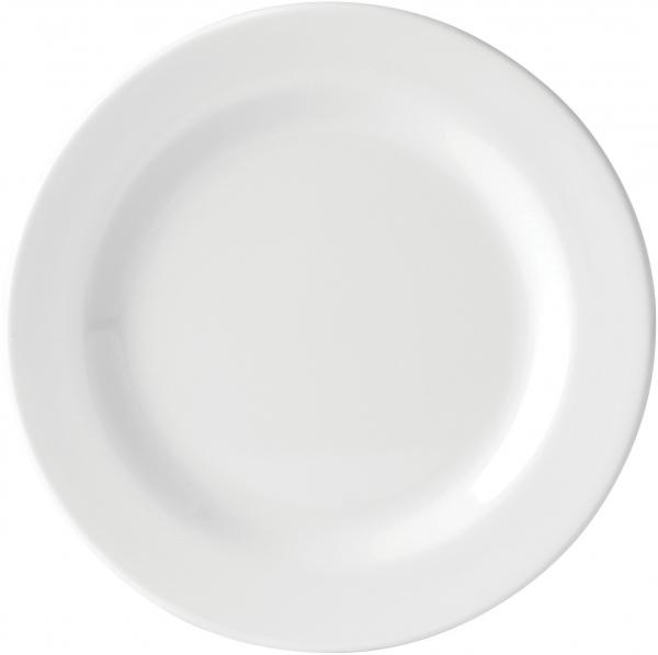 Melamine Wide Rimmed Plate 7'' (18cm)