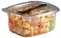 500cc Rectangular Salad Box