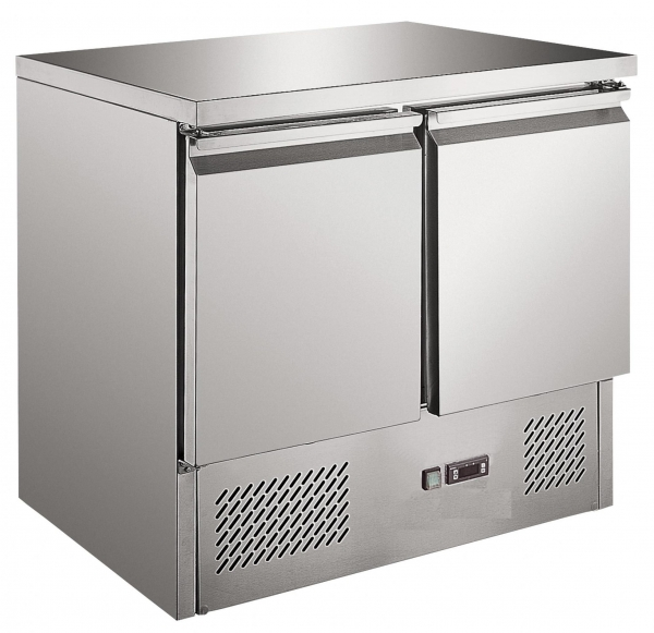 Prodis  EC-2SS 2 Door Compact Counter Fridge
