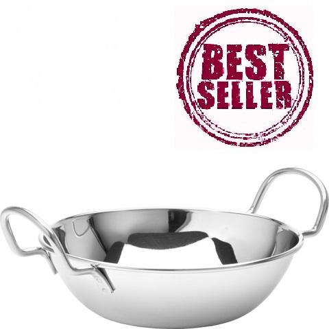 Stainless Steel 6.75'' Balti Dish