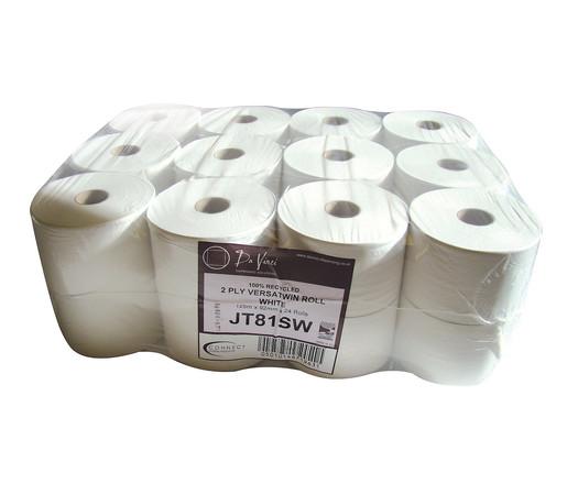 Northwood Hygiene 2Ply White Versatwin Toilet Tissue