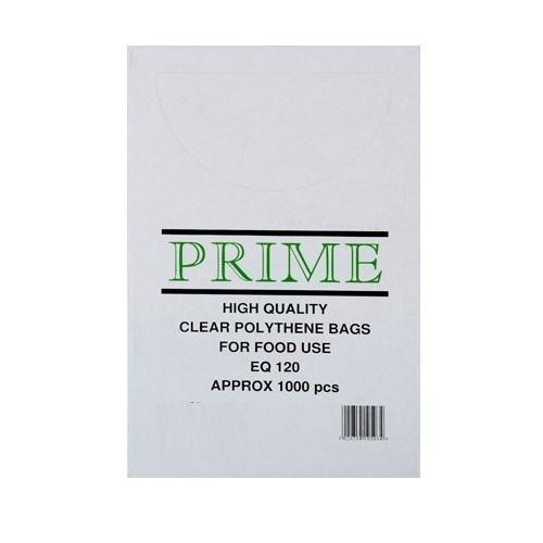"6""x 8"" Clear Polythene Bags"