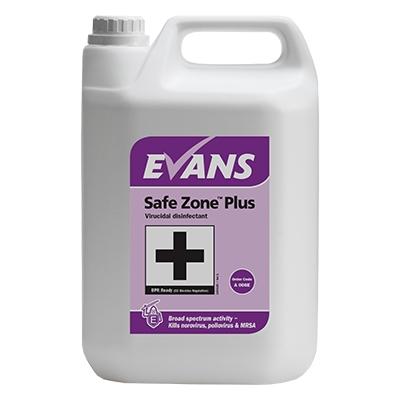 Evans Safe Zone Plus 5Ltr