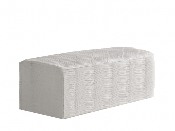 Interfold Hand Towel White1ply