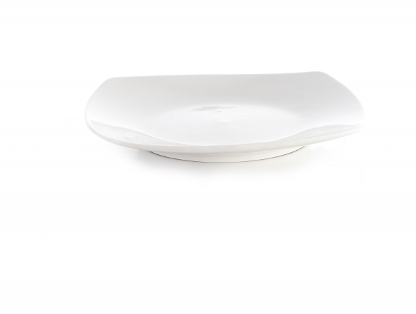 "Square Plate 8""/20.5cm - Professional Hotelware"