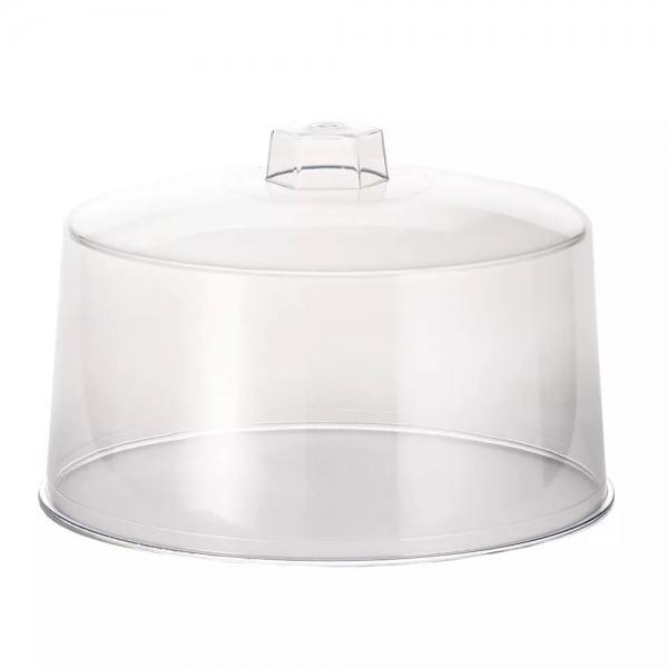 "Plastic Handle Cake Cover 12x7 1/2"""