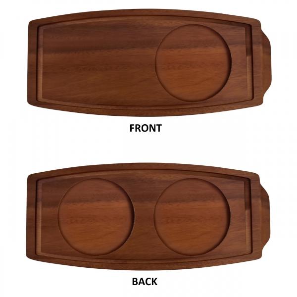 Acacia Wood Presentation  Board 34x15.5x23cm
