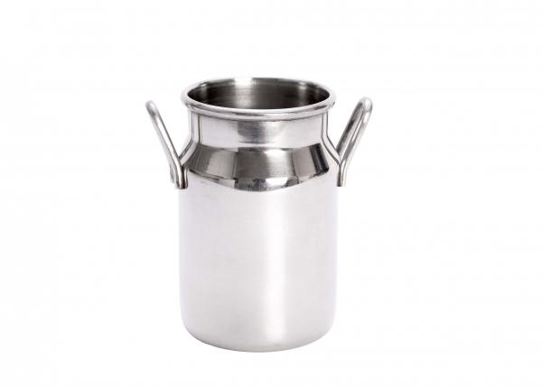 Stainless Steel Milk Churn 5oz 14cl