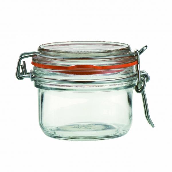 Glass Clip Jar 125ml 4.5oz