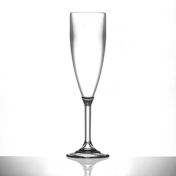Clear Champagne Flutes 18.7cl/6.6oz